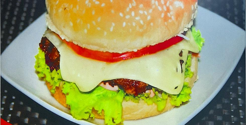 Hamburguesa sencilla ranchera