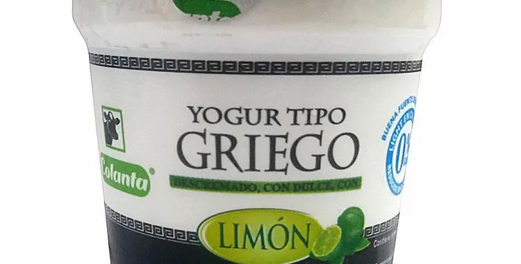 Yogur Tipo Griego Limon Pet 125G
