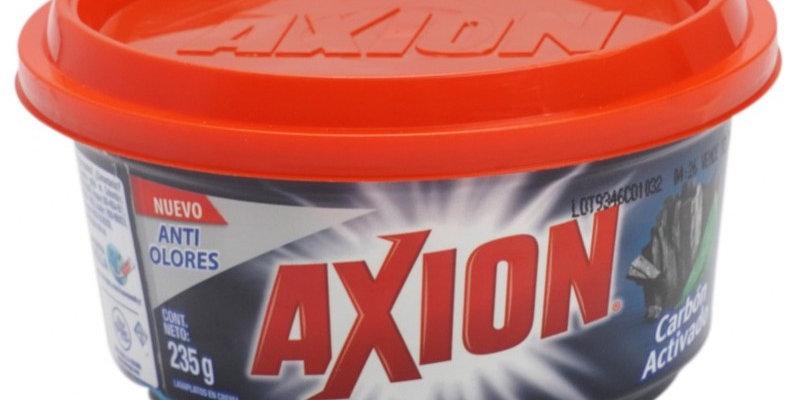 Lavaplatos Crema Axion Carbón Activo 235g
