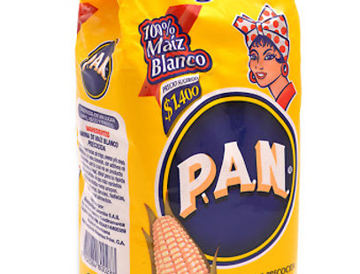 Harina De Maiz Blanco Precocida Pan 500G