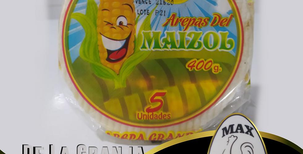 Arepas Del Maizol Blanca X5 400Gr