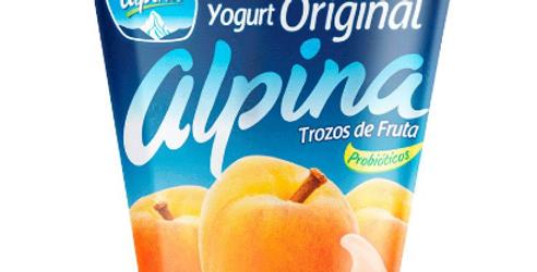 Yogurt Alpina Original Melocoton Pet 150G