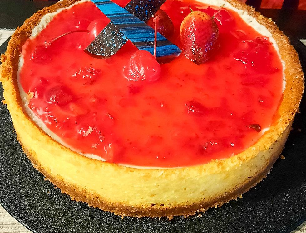 Torta Cheesecake De Frutos Rojos X8Porciones
