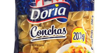 Pasta Conchas Doria Pet 200G