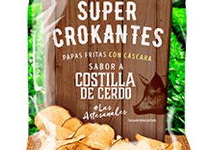 Papas Super Crokantes Costilla De Cerdo Pet 40G