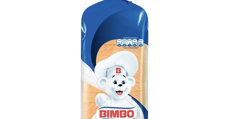 Pan tajado Blanco Mediano Bimbo