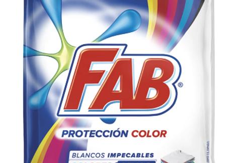 Jabon En Polvo Proteccion Color Fab 450G