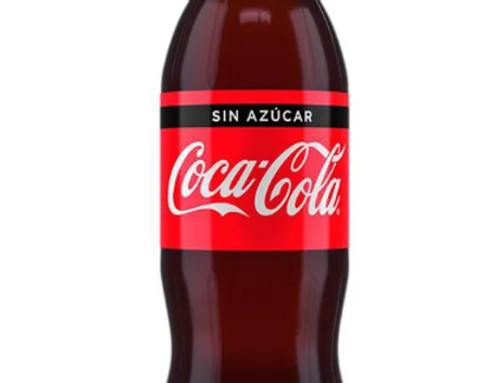 Gaseosa Coca cola sin Azucar 1.5L