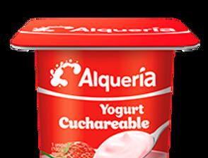 Yogurt Alqueria Cuchareable Fresa Pet 100G