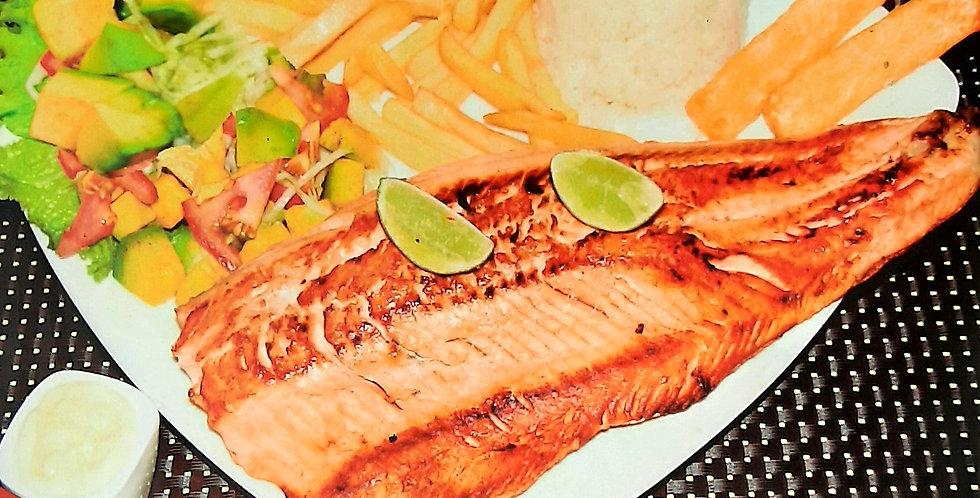 Salmon Asado