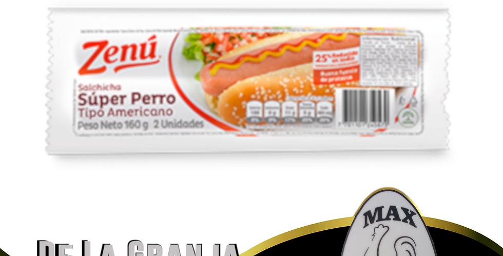 Salchica Super Perro Zenu 160Gr