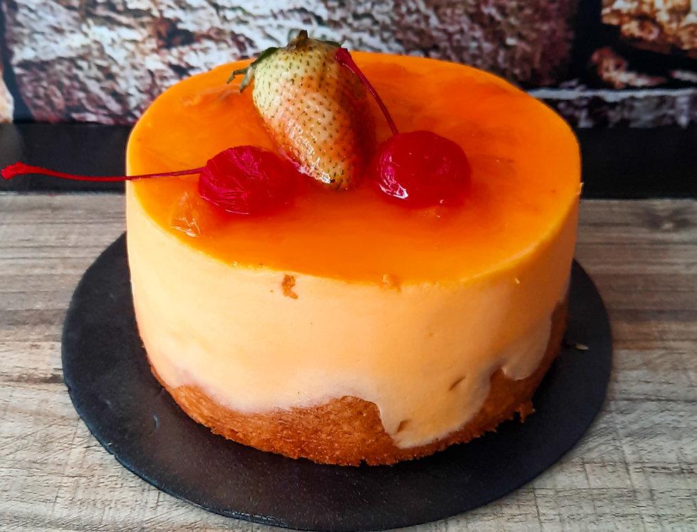Torta Postre Durazno X5 Porciones