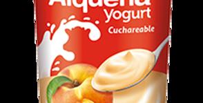 Yogurt Alqueria Cuchareable Melocoton Pet 100G