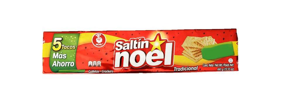 Galletas Saltin Noel 5Tacos 441G