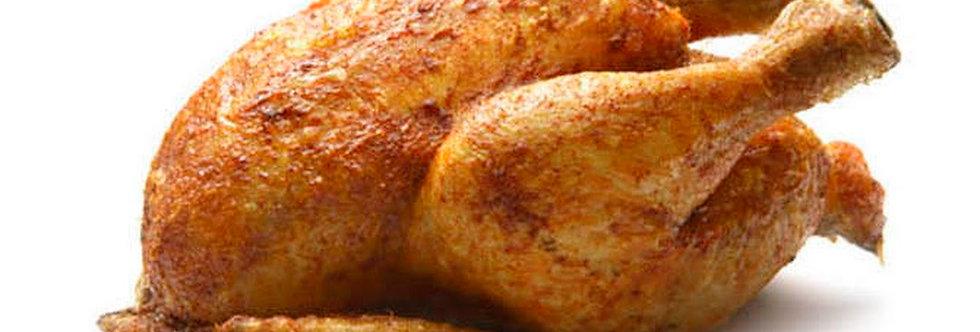 1/4 De Pollo Frito