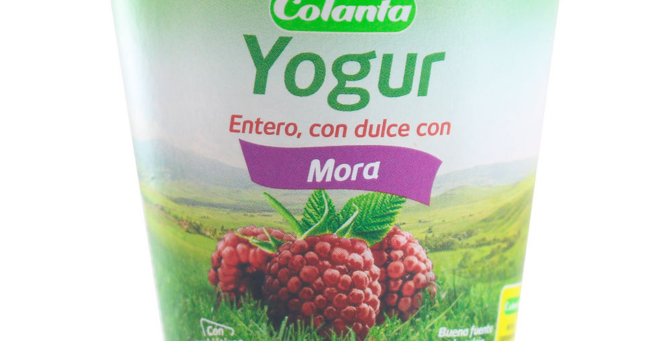 Yogur Colanta Mora Pet 150G
