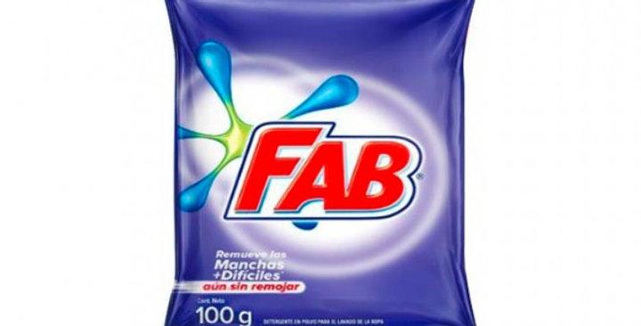 Jabon En Polvo Fab 100G