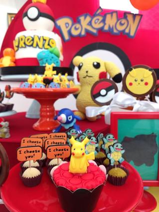doces personalizados pokemon