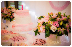 arranjo floral festa  bailarina