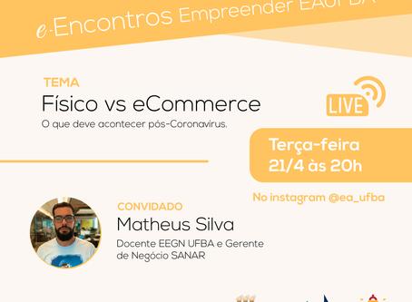Docente Matheus Silva faz parte da live Impacto COVID-19