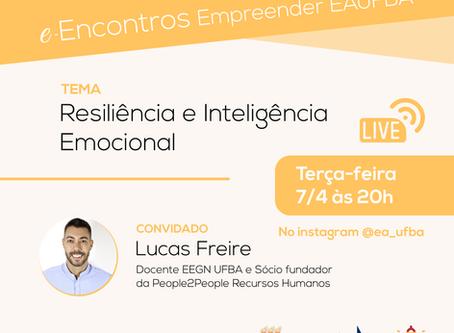 Docente Lucas Freire estreia a live Impacto COVID-19