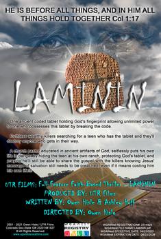 UTR Films New Faith-Based Full Feature Thriller - LAMININ