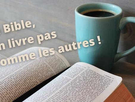 La Bible, un livre pas comme les autres