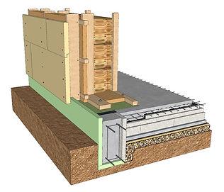 Energiškai efektyvaus namo siena (2)