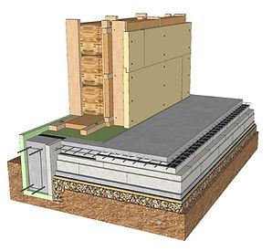 Energiškai efektyvaus namo siena (3)