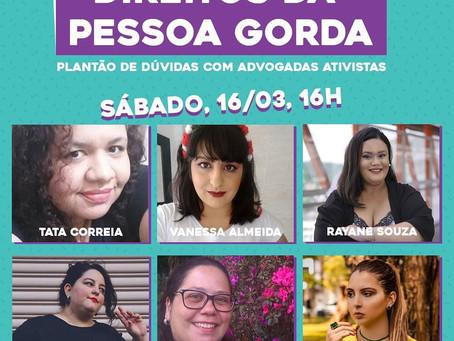 DEBATE FUNDAMENTAL - DIREITOS DA PESSOA GORDA