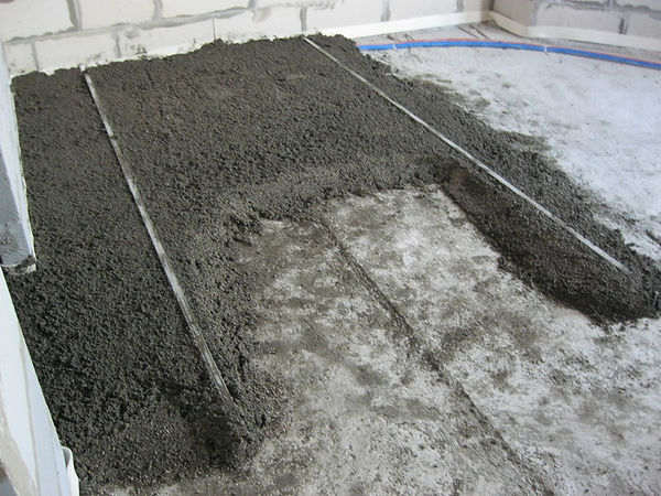 стяжка из керамзитобетона технология