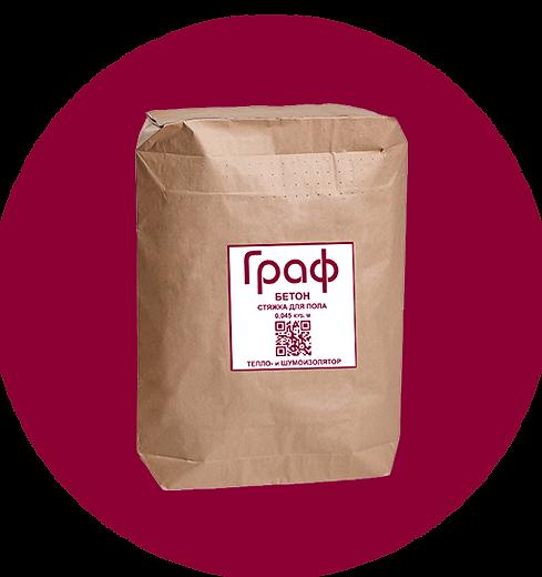 Полистиролбетон Граф - упаковка