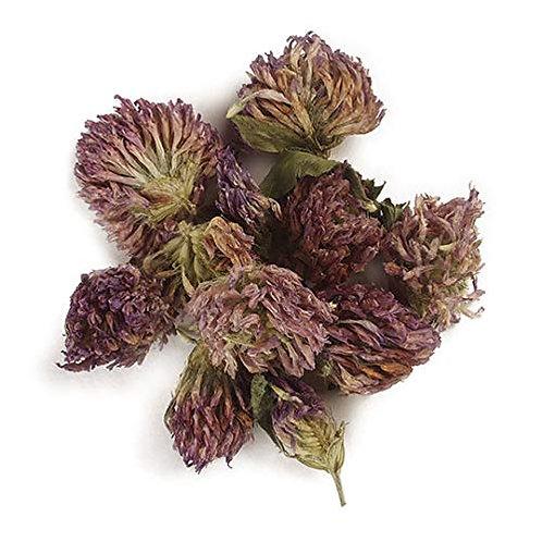 Red Clover Leaf & Blossoms - 1 oz