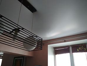 Натяжной потолок до слива воды с натяжного потолка