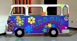 Irene's Groovy Themed Bday