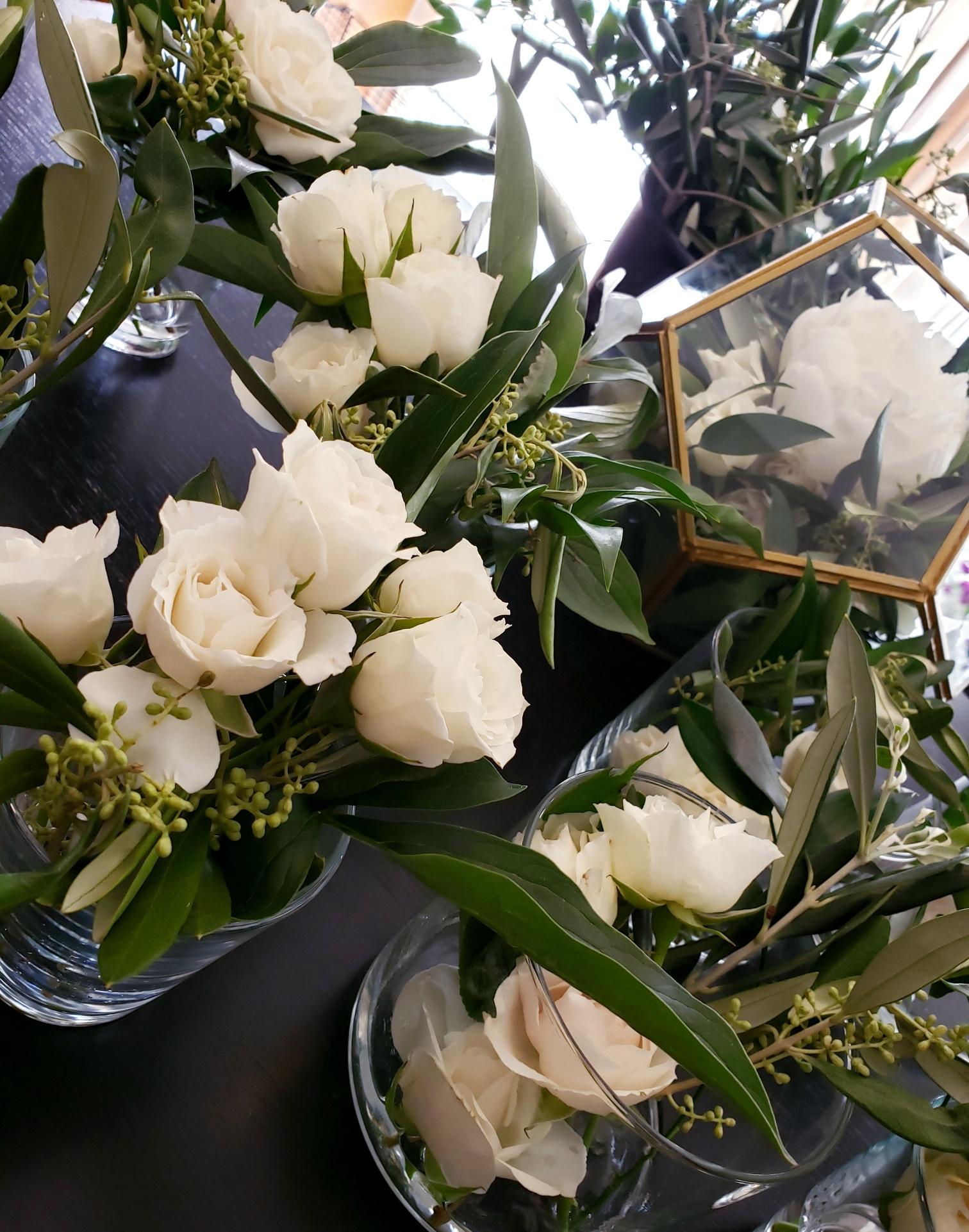mini vases for cruiser tables