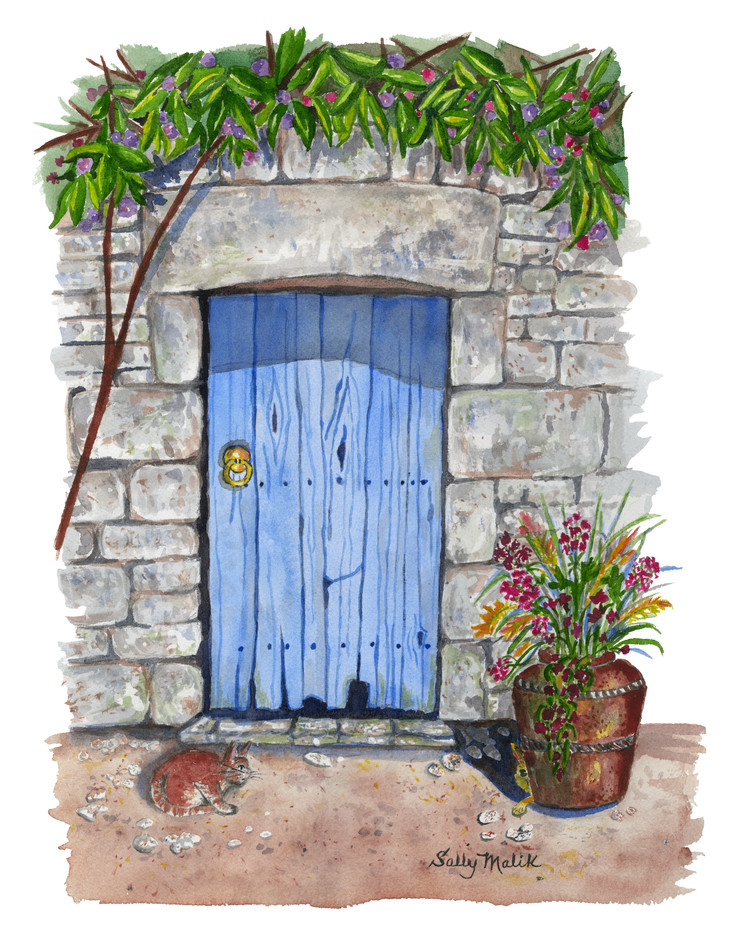 Blue Door in Ireland_1