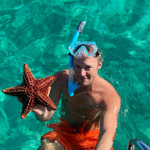 Pieter and the starfish