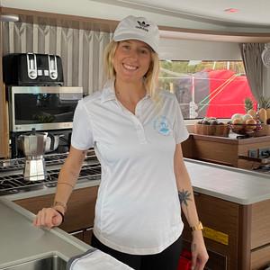 Chef Janey in kitchen