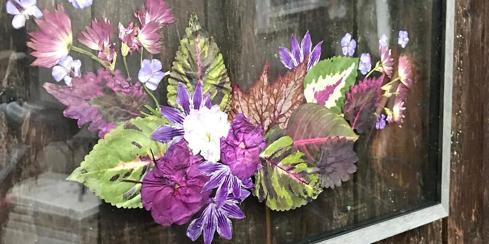 Floral Pressing Workshop