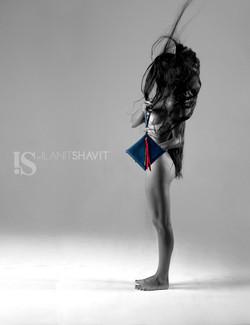 IS by Ilanit Shavit Black Clutch