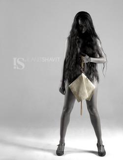 IS by Ilanit Shavit White Clutch