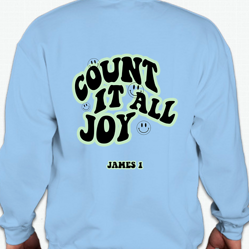 "Pulse ""Count It All Joy"" Sweatshirt"
