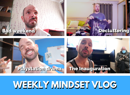 I declutter my mindset & my Playstation 5 drama reaches its climax | Weekly Mindset VLOG [Episode 6]