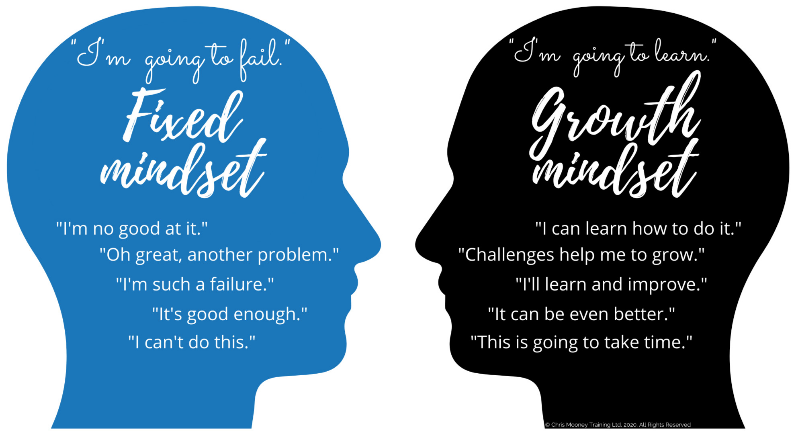 What's the difference between a fixed mindset and a growth mindset - CM Learning - why we need to have a growth mindset