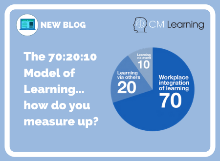 The 70:20:10 Model of Learning - how do you measure up?
