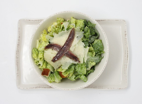 Caesar Salad with Anchovies