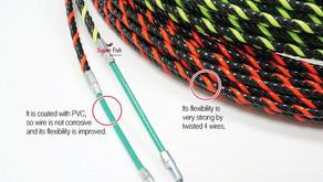 4-Strand Non-conductive Fish Tape
