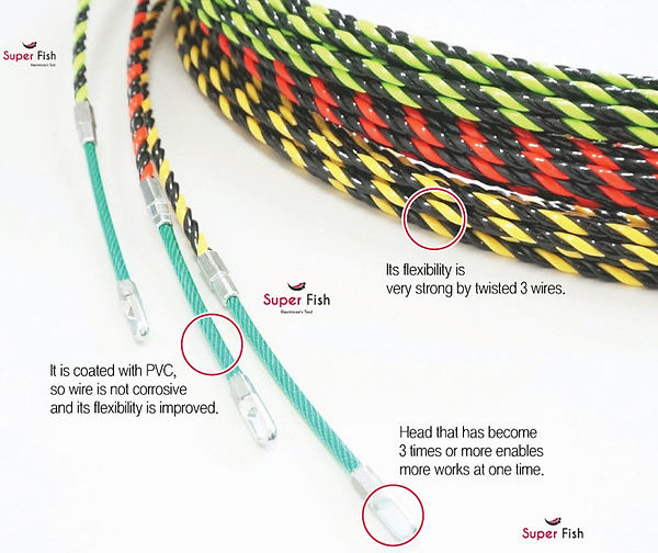 3-Strands electrical fish tapes