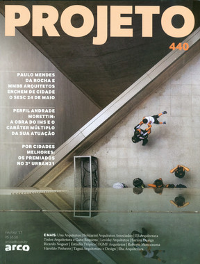 ILHA ARQUITETURA na Revista Projeto